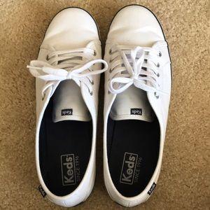 White Keds Size 10